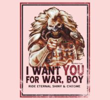 I Want YOU for WAR, BOY One Piece - Long Sleeve