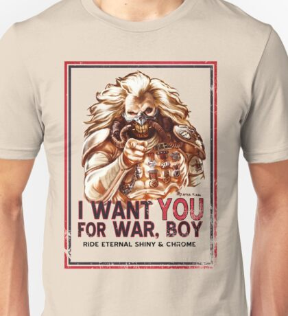 I Want YOU for WAR, BOY Unisex T-Shirt