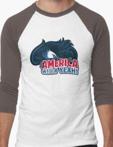 Team America Men's Baseball ¾ T-Shirt