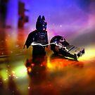 Batman Defeats Penguin by Darlene Lankford Honeycutt