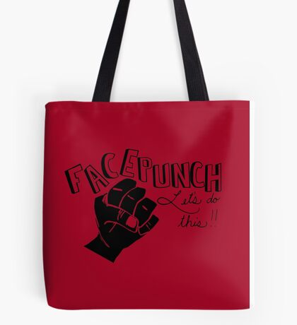 Facepunch: Let's Do This Tote Bag