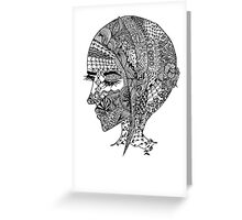 NINJAGIRL Greeting Card