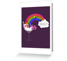 Forever Young Adult Official Tee Greeting Card