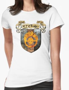 SHINY. ETERNAL. CHROME. Womens Fitted T-Shirt
