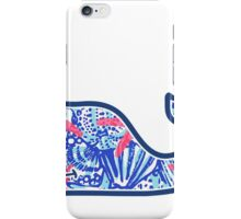 Vineyard Vines Whale w/ Lilly Pulitzer shells beach pattern she she shells iPhone Case/Skin