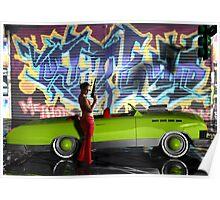 Melbourne Graffiti  & Kanaa Muscle Car3 Vigilante Poster