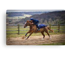 1st Gallop Canvas Print