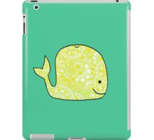 Whale: Yellow iPad Case/Skin