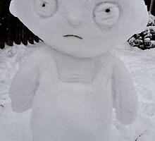 Stewie Giffin Snowman by Brandon Myles Osman
