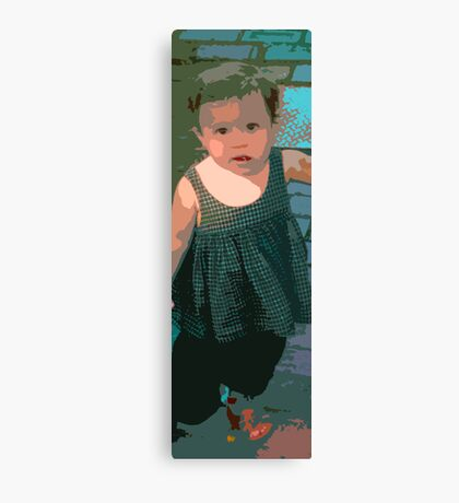 Girl, Marthas Vineyard Canvas Print