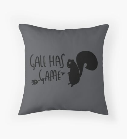 The Hunter Has Game Throw Pillow