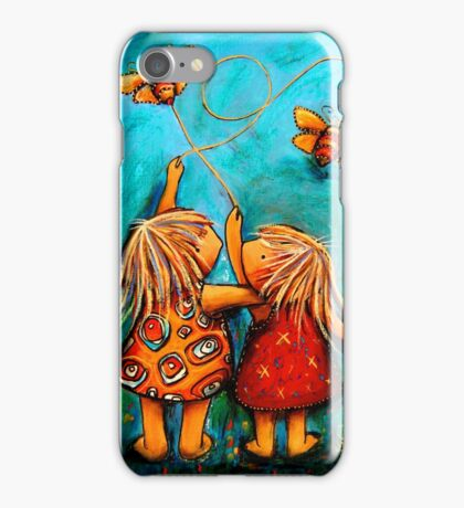 Forever Friends Blue Skies iPhone Case/Skin
