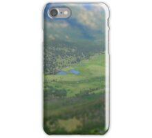 High Mountain Tilt Shift iPhone Case/Skin