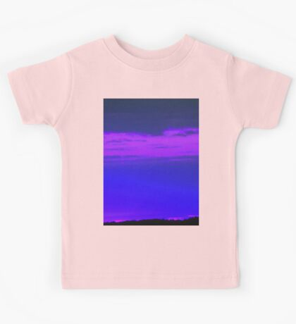 Purple Sky 2-Available As Art Prints-Mugs,Cases,Duvets,T Shirts,Stickers,etc Kids Tee
