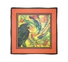 Scarf - Raven red background Scarf