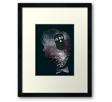 Doctor Who Eleventh Doctor Grunge Framed Print