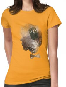 Doctor Who Eleventh Doctor Grunge Womens Fitted T-Shirt