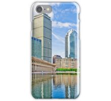 Reflection Pond In The City Of Boston iPhone Case/Skin