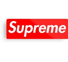 Pink Supreme Small Box Media Cases, Pillows, and More. Metal Print