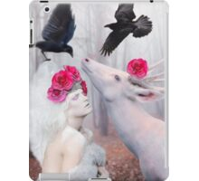~ The White Deer ~ iPad Case/Skin