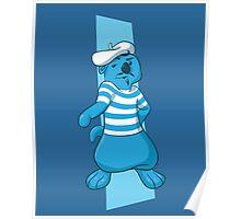 Louie Bloo Raspberry Poster