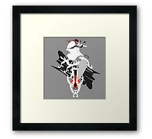 Abstract armur and heraldy Framed Print