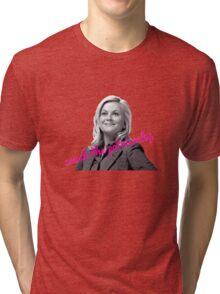 Leslie Knope Feminist Tri-blend T-Shirt