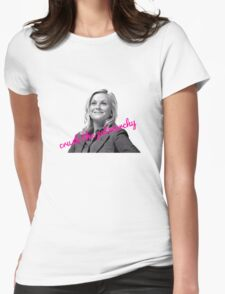 Leslie Knope Feminist Womens Fitted T-Shirt