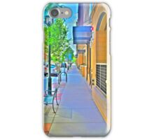 Denver city streets iPhone Case/Skin