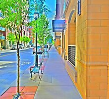 Denver city streets by Jackson Killion