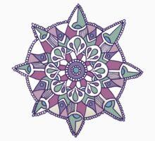 Mandala: Lilac/Mint Kids Tee