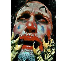 Psycho clown Photographic Print