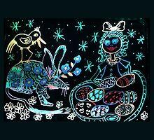 A Bilby Easter Fantasy by scallyart