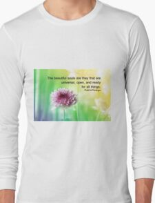 beautiful souls Long Sleeve T-Shirt