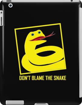 DON'T BLAME THE SNAKE by Jean Gregory  Evans