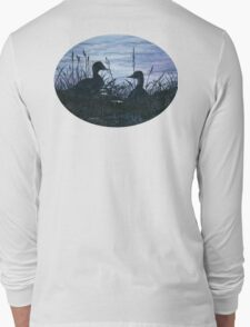 Ducks Silhouetted Long Sleeve T-Shirt