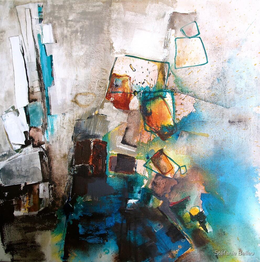 Playing with blocks by Stéfanie Belleu