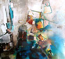 Playing with blocks by Stèf Belleu