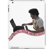 Markiplier: Blog Your heart out iPad Case/Skin