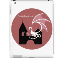 Castle Breakout Escape game logo iPad Case/Skin