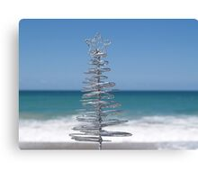 Silver Tree Canvas Print