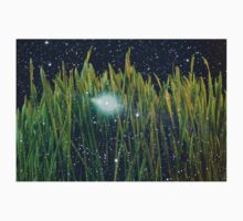 Grass & Starry Night Sky One Piece - Short Sleeve