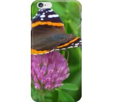 The Admiral on Clover iPhone Case/Skin