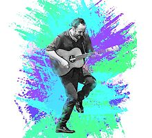 Dave Matthews Watercolor Dance by shelbmcintyre