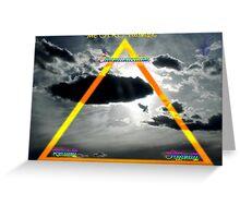 ARC Triangle  Greeting Card