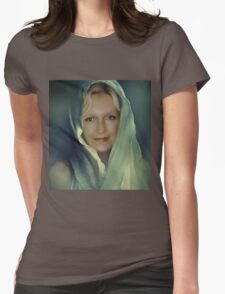 ~ Veiled Mystery ~  Womens Fitted T-Shirt