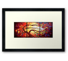 The Worshipping Tree Framed Print