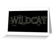 Engineering Wildcats Greeting Card