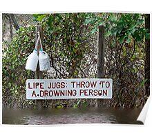Life Jugs Poster