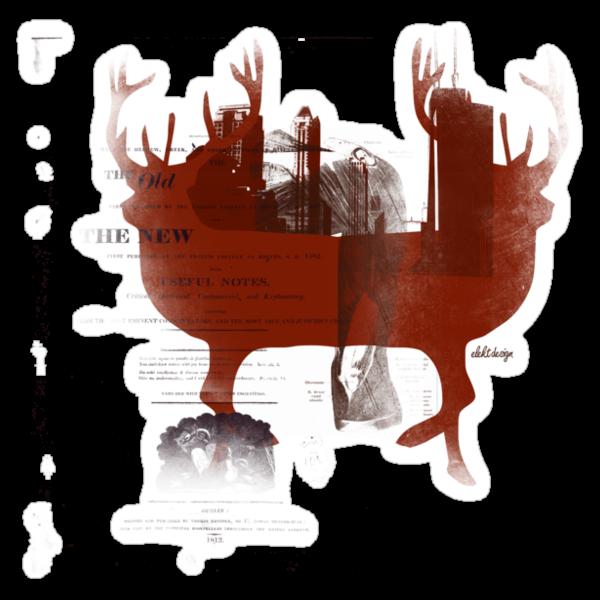 red stagg by eLEkt